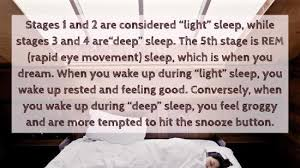 alarm clock that wakes you up during light sleep don t feel recharged after sleeping learn how to sleep like a baby