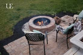How To Make Paver Patio Diy Paver Patio And Pit Patios Decking And Check