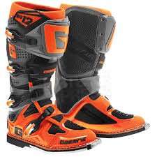 motocross bike boots 2016 gaerne sg12 boots orange black motocross pinterest