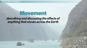 5 themes of geography essay exles what are the five themes of geography video lesson transcript