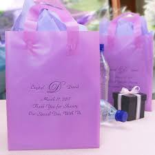 personalized wedding gift bags 8 x 10 custom printed frosted gift bags set of 25