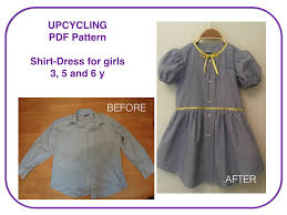 dress pattern 5 year old pdf toddler girl dress pattern and tutorial for upcycling project