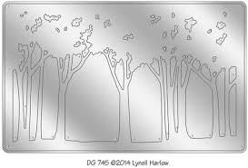 stendous tree line die cut dwdg745 123stitch