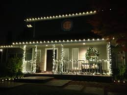 accessories white outdoor lighted trees white cord