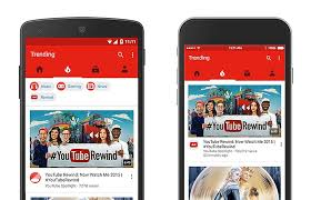 layout android refresh youtube for android update brings new navigation bar and minor
