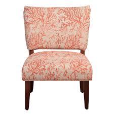 floral fabric gigi accent chair homepop