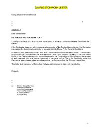 Cancellation Letter For Agreement Tips For Writing Formal Termination Letters 9 Free Samples