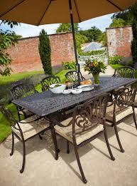 amalfi 4 seater garden dining set with parasol 31873image hartman
