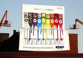 a creative marketing campaign of rona ambush marketing