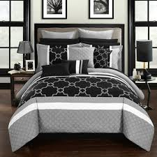 Elegant Black and White Bedroom Ideas Lux fyBedding