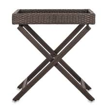 buy tray table set from bed bath u0026 beyond