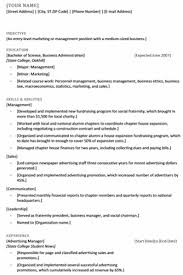 Recent College Grad Resume This Thesis Aims To Your Objective And Resume Summary New Material