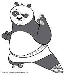 printable kung fu panda clipart clip art library