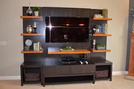 espresso bookcase with glass doors u2014 doherty house