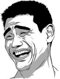 Laughing Face Meme - rage face script