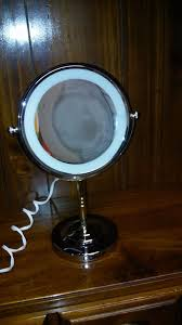 conair chrome magnifying countertop vanity mirror with light swish new conair reflections led lighted collection mirror polished