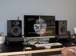 diy desktop speaker stands diy project
