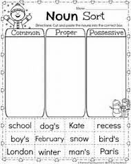 best 25 ideas about common and proper noun worksheets find what