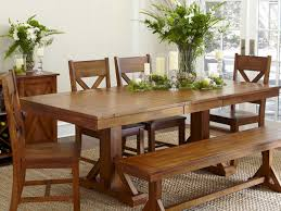 country style dining table with bench with design image 5840 zenboa
