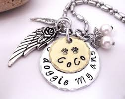 pet memorial necklace pet memorial jewelry pet memorial key chain personalized