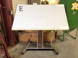 Large Drafting Table Mayline Futur Matic Drafting Table W Varitask Base