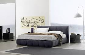 soft bed frame sangiacomo super soft bed modern beds square quilted removable