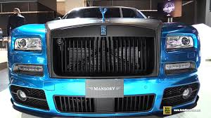 mansory cars 2015 2016 rolls royce wraith mansory bluerion 740hp walkaround 2015