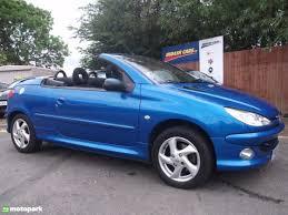 peugeot 206 convertible interior peugeot 206 coupe cabriolet 1 6 s motopark uk