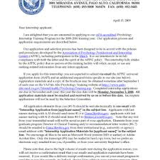 exquisite clinical psychology internship cover letter examples