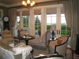 home office window treatment ideas for living room bay window