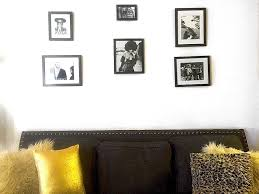 blank gallery wall the best frames for creating the perfect gallery wall aol lifestyle