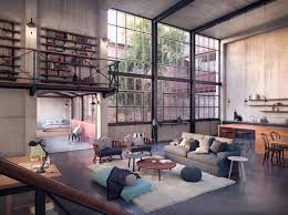 cuisine style loft industriel chambre style loft industriel fabulous chambre style loft