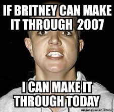 Shaved Head Meme - 10 years later britney spears head shaving moment is still