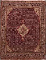 Bidjar Persian Rug Red 9 U0027 10 X 12 U0027 10 Bidjar Persian Rug Persian Rugs Esalerugs