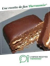 espace cuisine thermomix terrine de chocolat thermomix