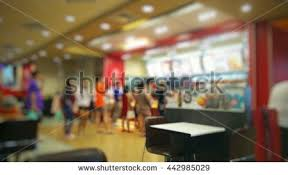 fast food restaurant interior stock images royalty free images