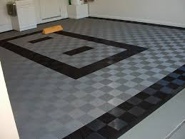 Garage Floor Tiles Cheap Black And Grey Interlock Rubber Garage Floor Tiles Flooring