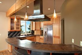 hickory kitchen cabinets kitchen design stunning curved kitchen island cream kitchen