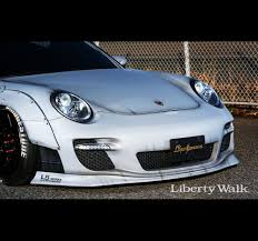 Porsche Cayenne 955 Body Kit - liberty walk lb performance porsche 997 works 911 body kit ver 1