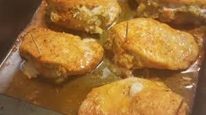 oven baked stuffed pork chops recipe allrecipes com