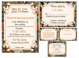 camouflage wedding invitations mossy oak camo wedding invitations
