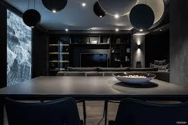 dark interior exquisite modern dark interiors adorable home