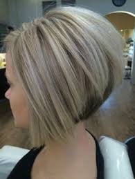 swing bob haircut steps cool blonde color and sharp inverted bob i created short hair