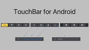 Home Design Story For Android Easily Control Your Phone U0027s Settings With Touchbar For Android