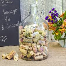 wedding wishes ideas personalized wedding wishes in a bottle guest book wedding