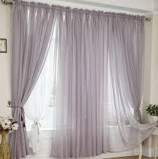 Grey Sheer Curtains Linen Custom Made Simple Grey Sheer Curtains