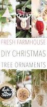 fresh farmhouse diy christmas tree ornaments the cottage market