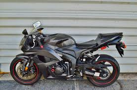 honda motorcycle 600rr 2008 honda cbr 600rr triple black carbon fiber real muscle