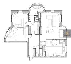 plan architecture leks architects kiev apartment plan interior design ideas