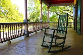 Porch Chair Porch Chair Stock Photo Image 52346239